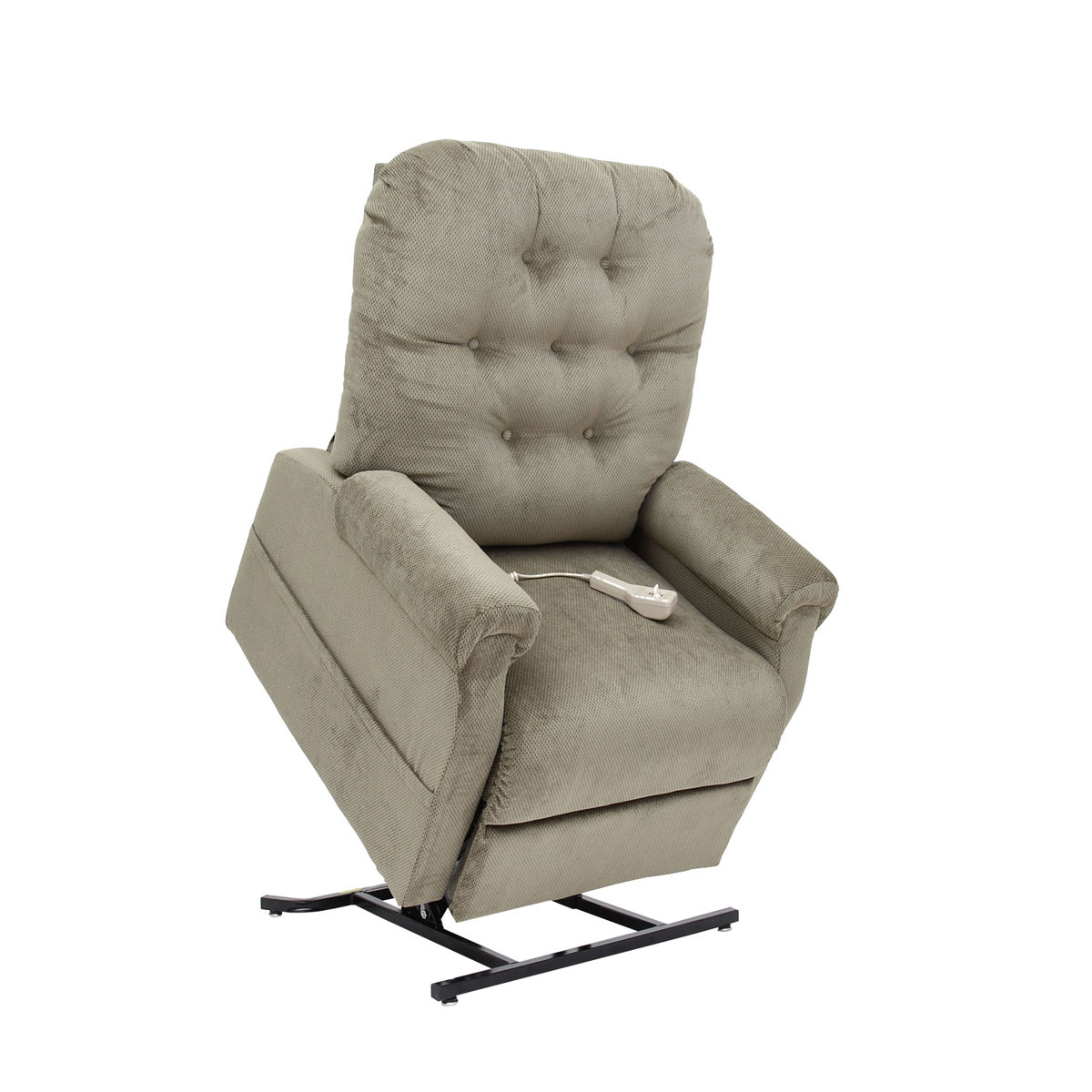 Infinite Position Recliner Power Lift Chair New Brandy