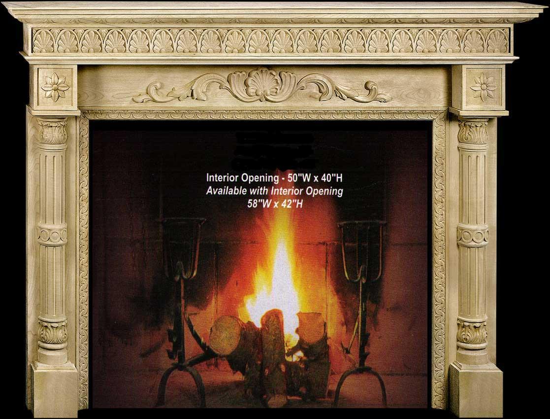CVH International Marie Fireplace Mantel Collection-CVH Int