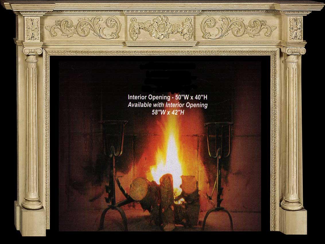 CVH International Sophia Fireplace Mantel Collection-CVH Int