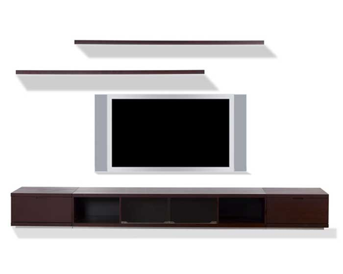 Cheap modloft Ann Wall Unit – Wenge