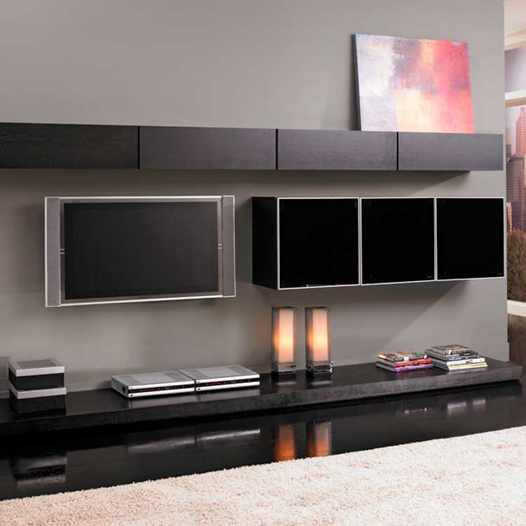Photo of modloft Grand Wall Unit - Wenge (Entertainment Center Furniture, Wall Unit, Entertainment Center Furniture)