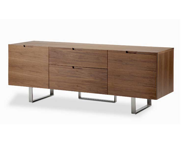 Cheap modloft Eldridge Entertainment Center – Walnut