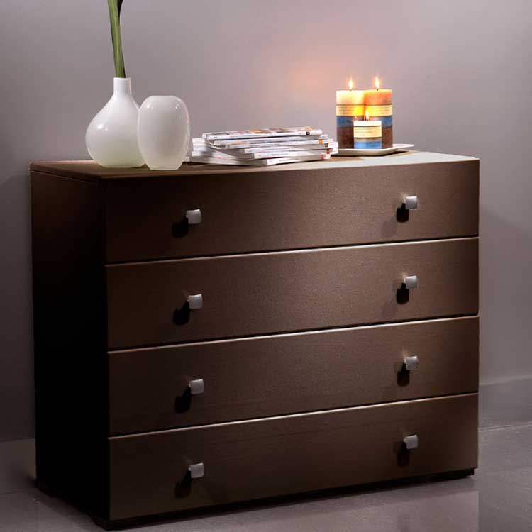 modloft Ludlow Dresser - Chocolate - Modloft