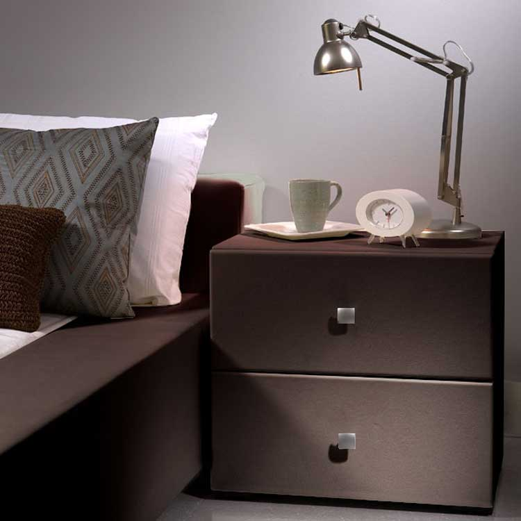 modloft Ludlow Nightstand - Chocolate - Modloft