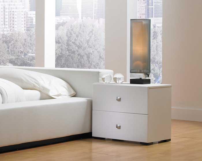 modloft Ludlow Nightstand - White - Modloft