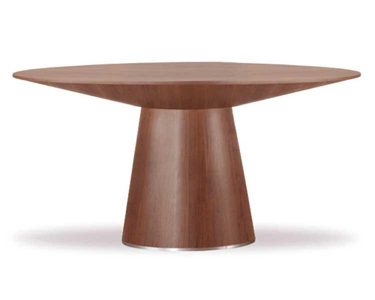Cheap modloft Centre Dining Table – Walnut