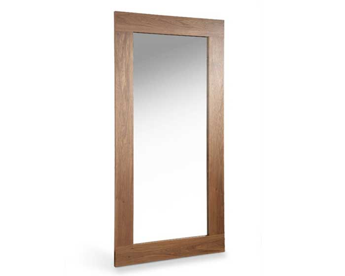 modloft Norfolk Mirror - Walnut - Modloft