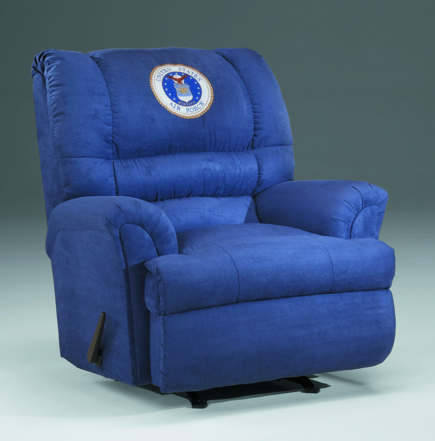 Military Recliners US Air Force Chaise Rocker Recliner