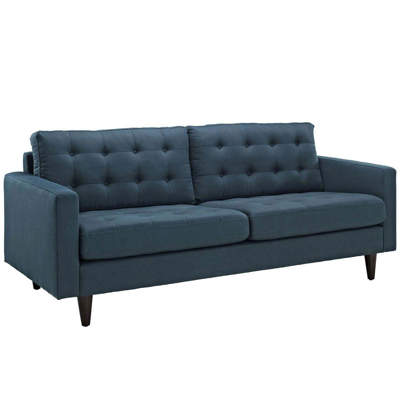 Modway Empress Upholstered Sofa - Azure