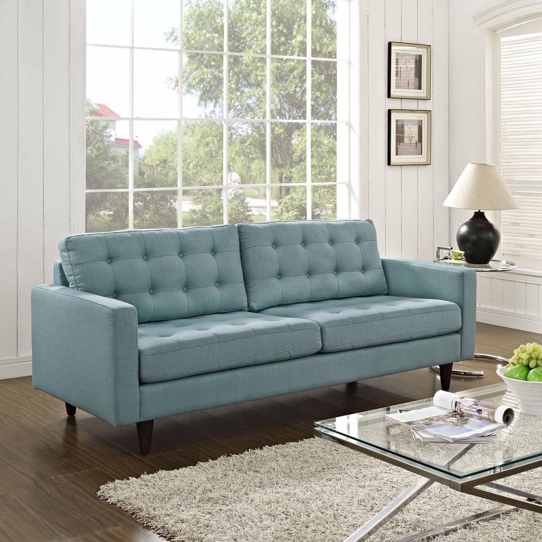 Modway Empress Upholstered Sofa - Laguna