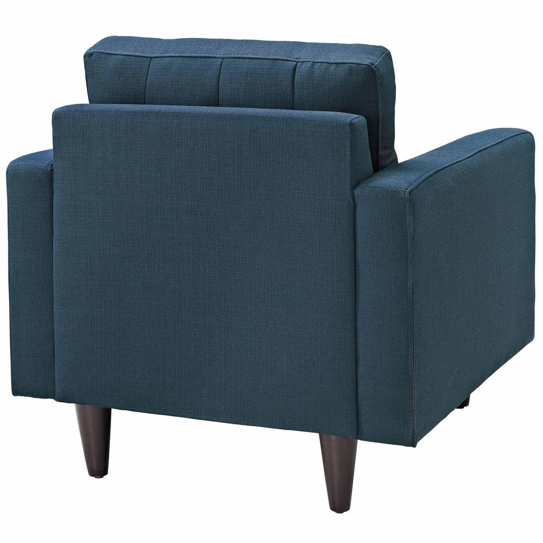 Modway Empress Upholstered Armchair - Azure