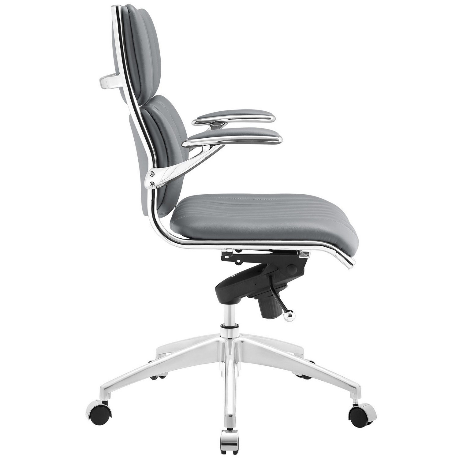 Modway Escape Mid Back Office Chair - Gray