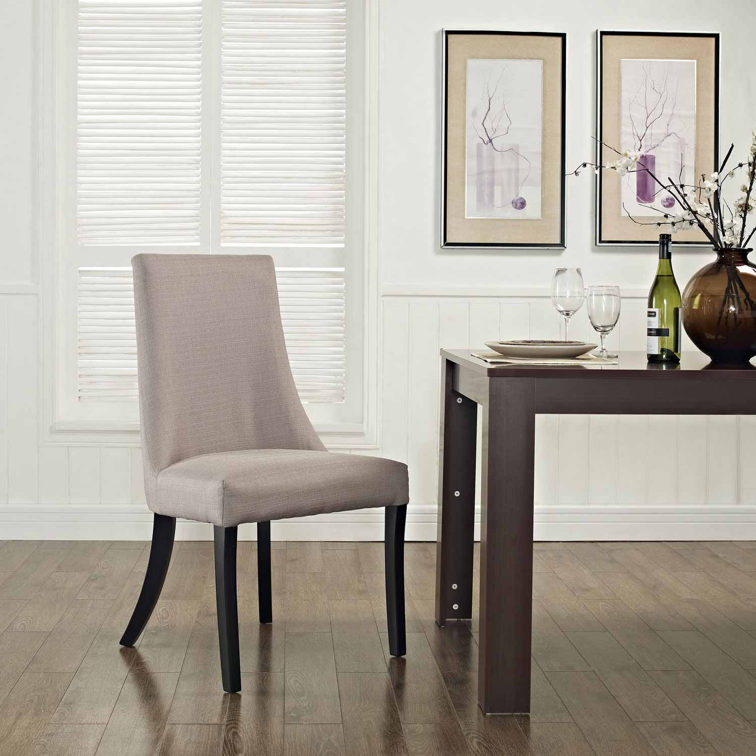 Modway Reverie Dining Side Chair - Beige