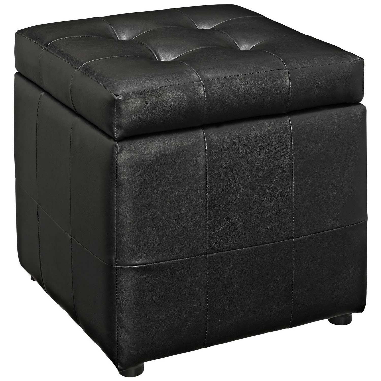 Modway Volt Storage Ottoman - Black