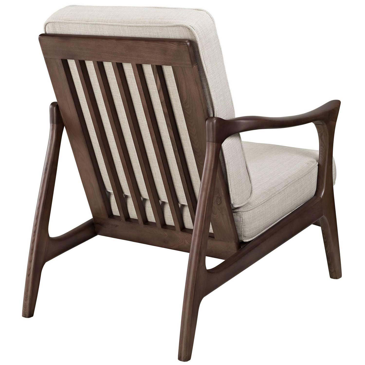 Modway Canoe Lounge Chair - Brown
