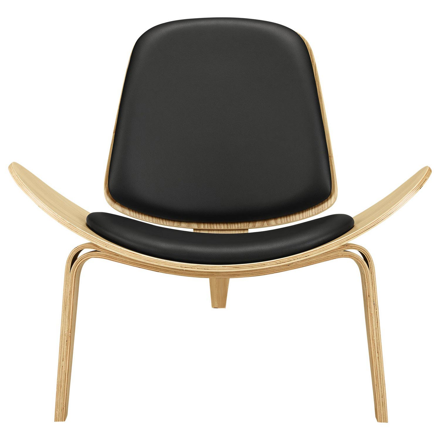 Modway Arch Lounge Chair - Oak Black