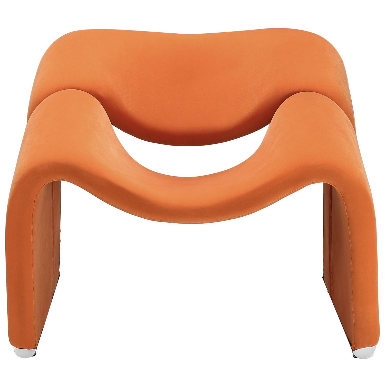 Modway Cusp Lounge Chair - Orange