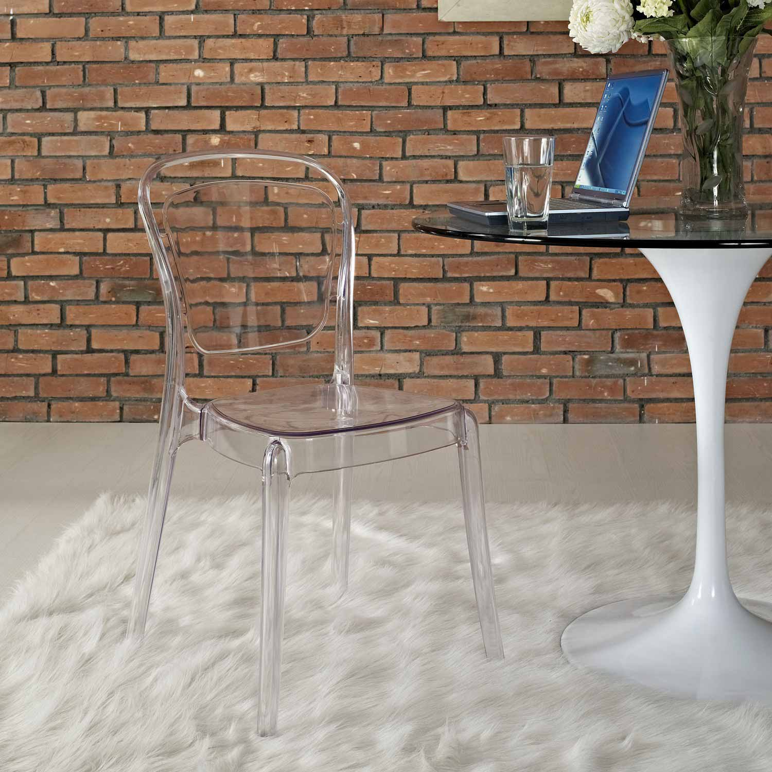 Modway Entreat Dining Side Chair - Clear