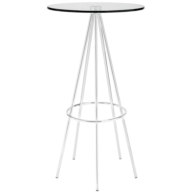 Modway Sync Bar Table - Clear