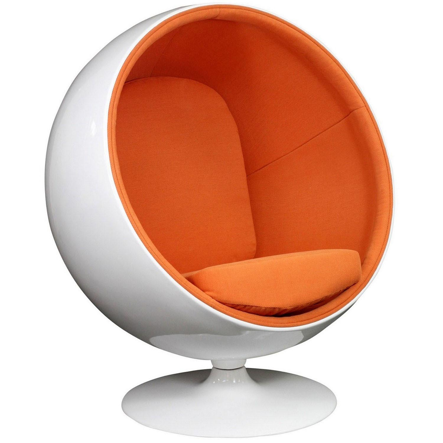 Modway Kaddur Lounge Chair - Orange