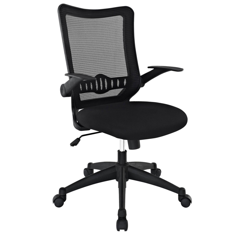 Modway Explorer Mid Back Office Chair - Black