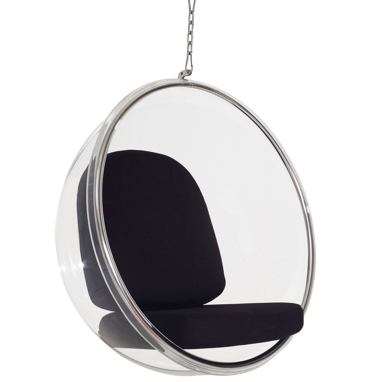 Modway Ring Lounge Chair - Black