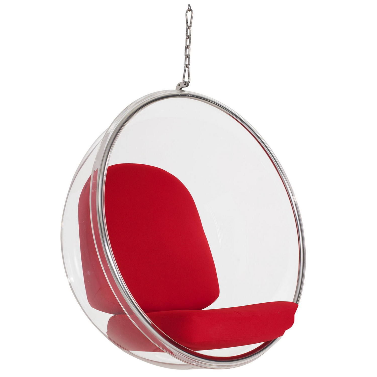 Modway Ring Lounge Chair - Red