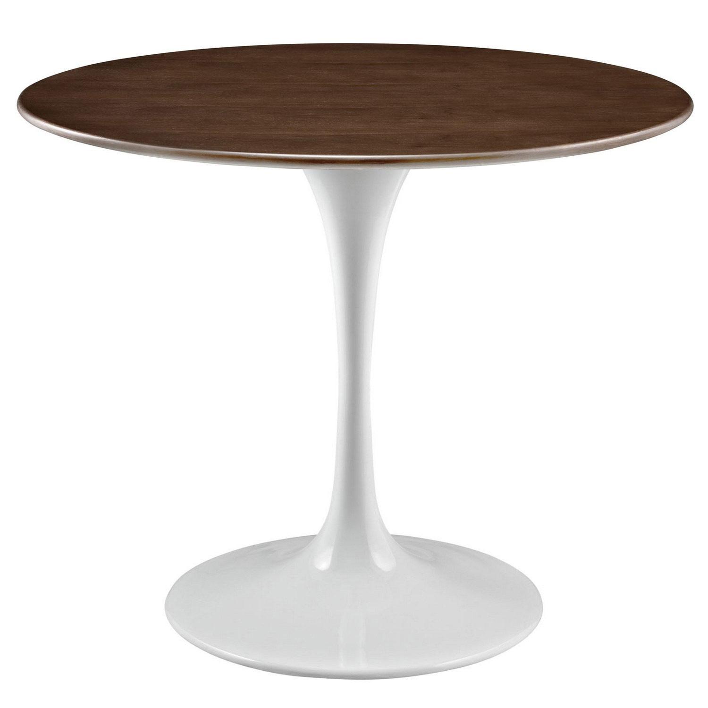 Modway Lippa 36 Walnut Dining Table - Walnut