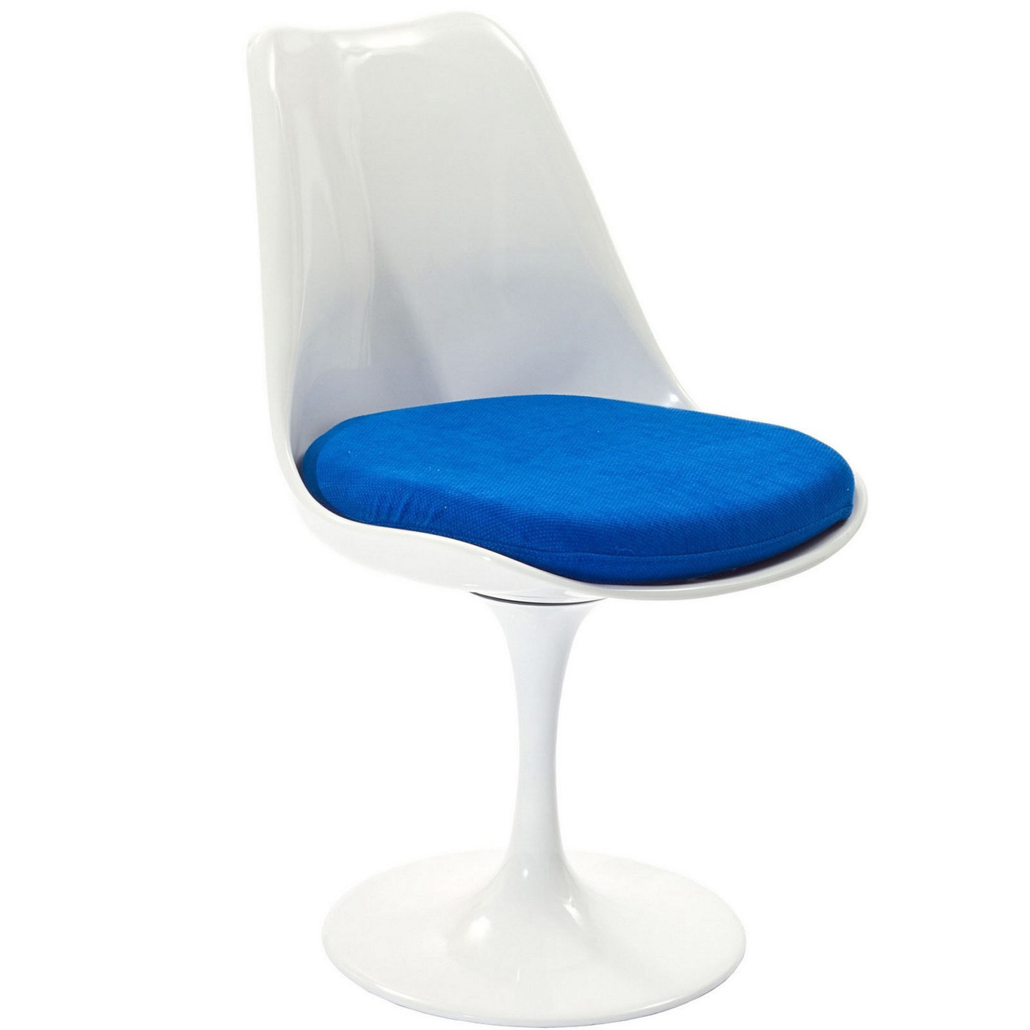 Modway Lippa Dining Fabric Side Chair - Blue