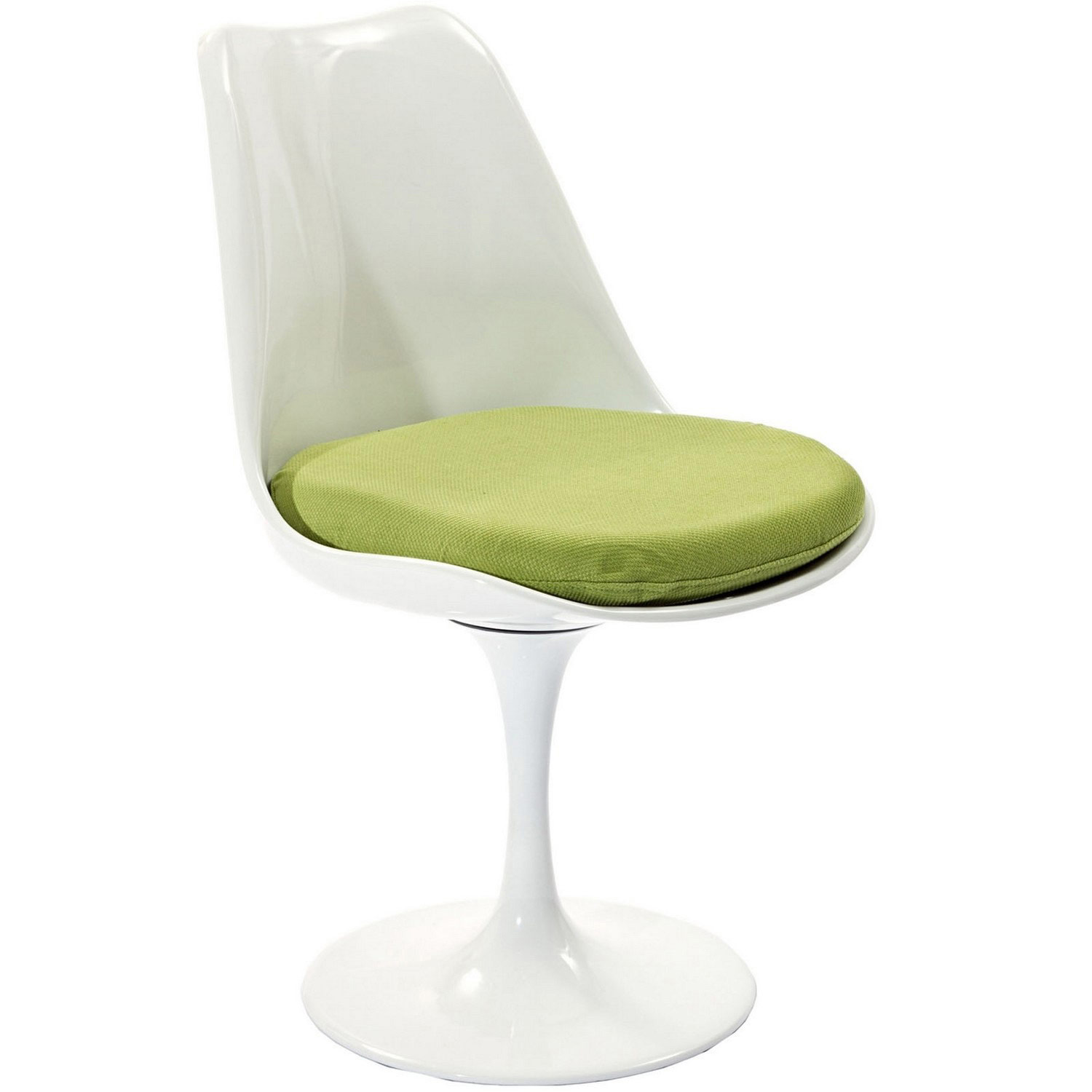 Modway Lippa Dining Fabric Side Chair - Green