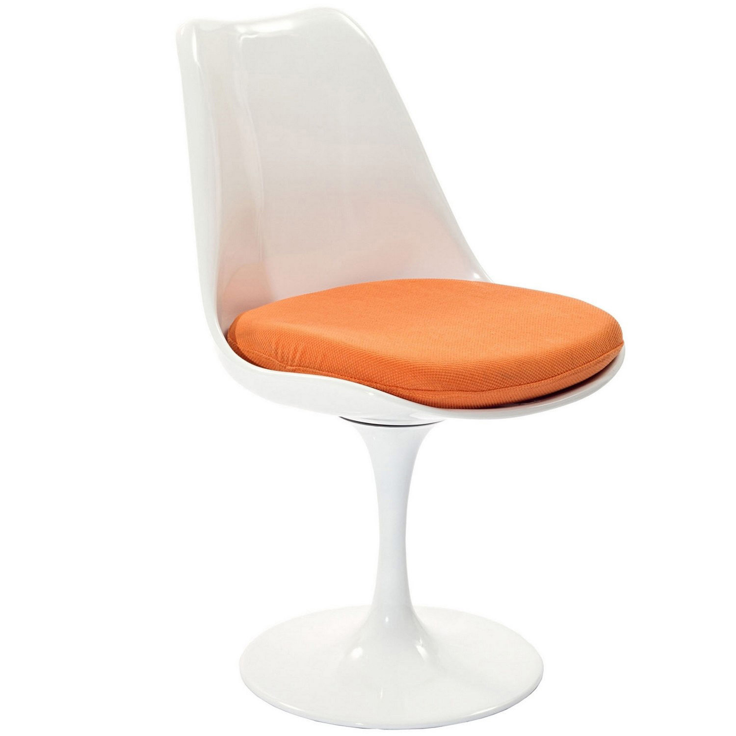 Modway Lippa Dining Fabric Side Chair - Orange