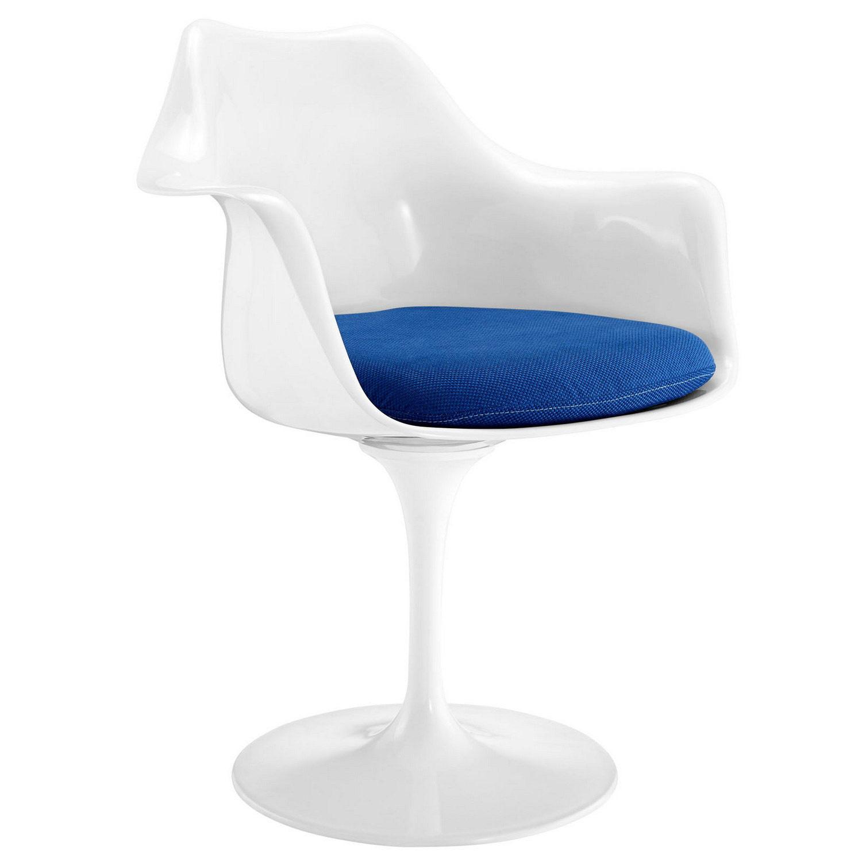 Modway Lippa Dining Fabric Armchair - Blue