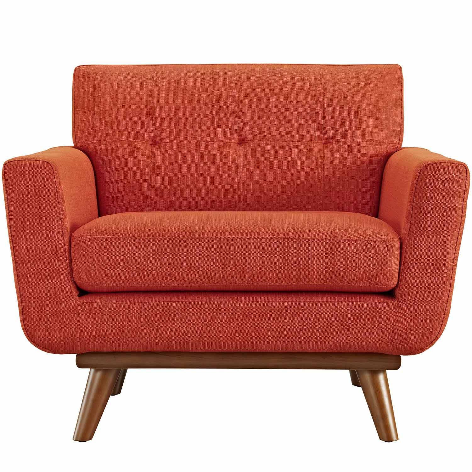 Modway Engage Upholstered Armchair - Atomic Red