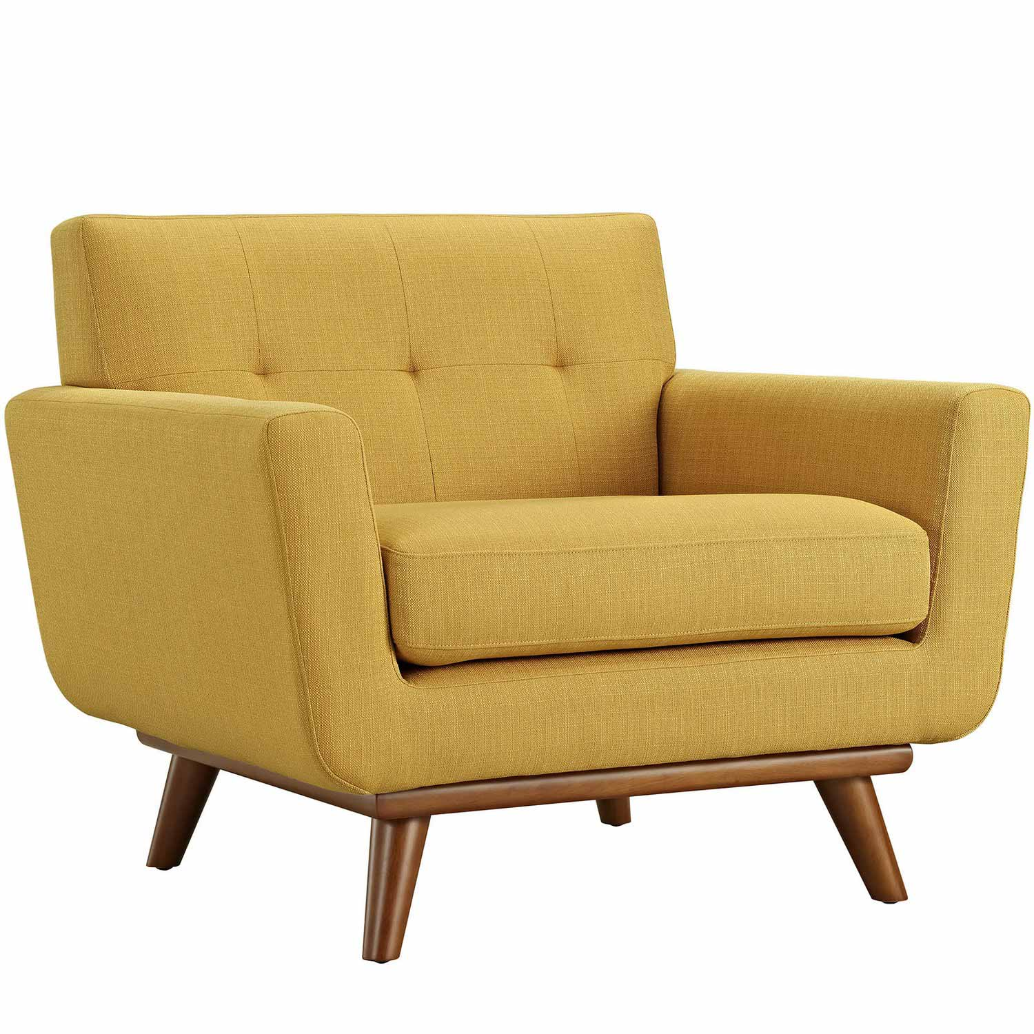Modway Engage Upholstered Armchair - Citrus