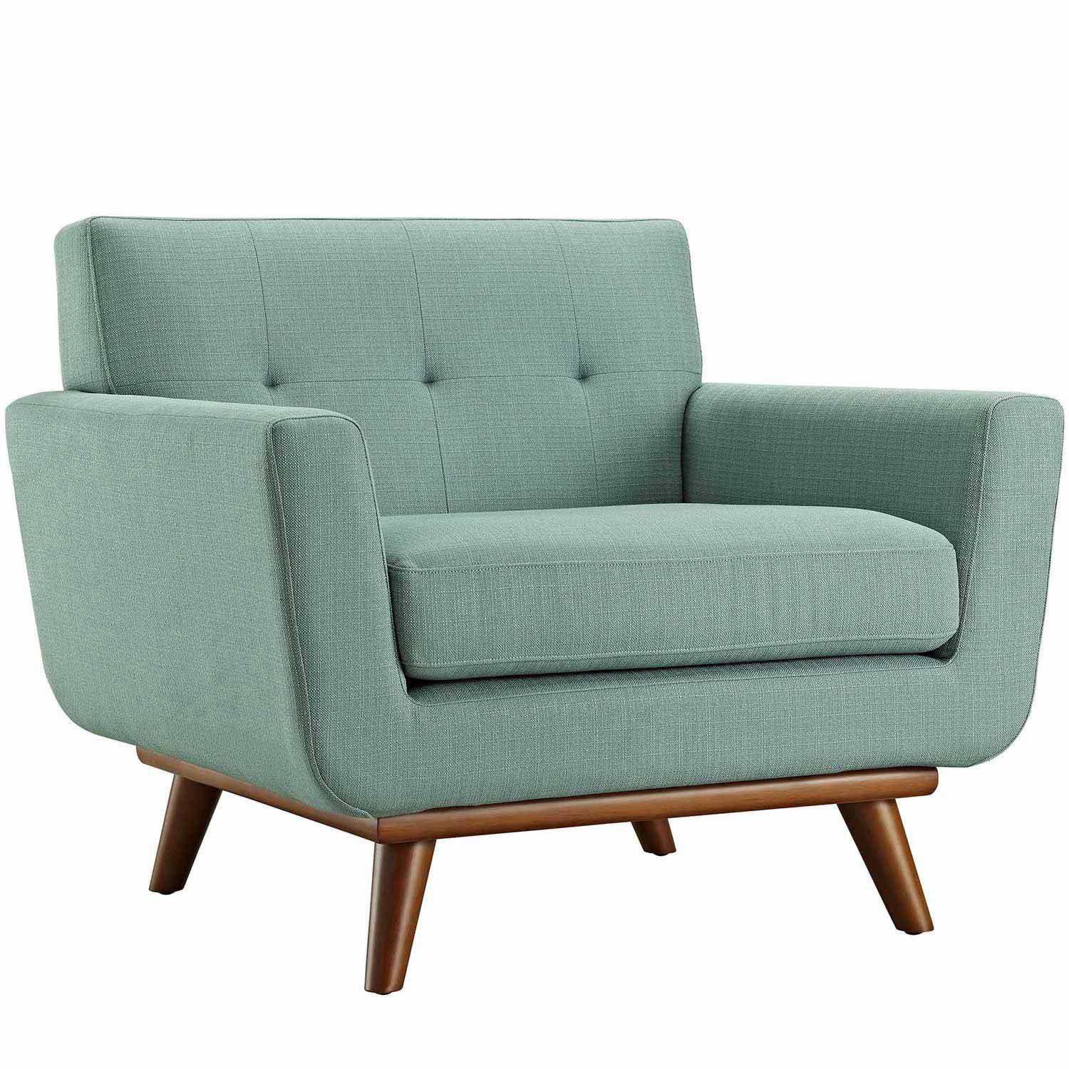 Modway Engage Upholstered Armchair - Laguna