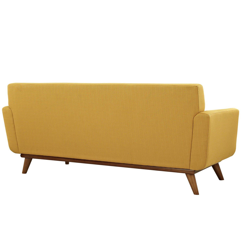 Modway Engage Upholstered Loveseat - Citrus