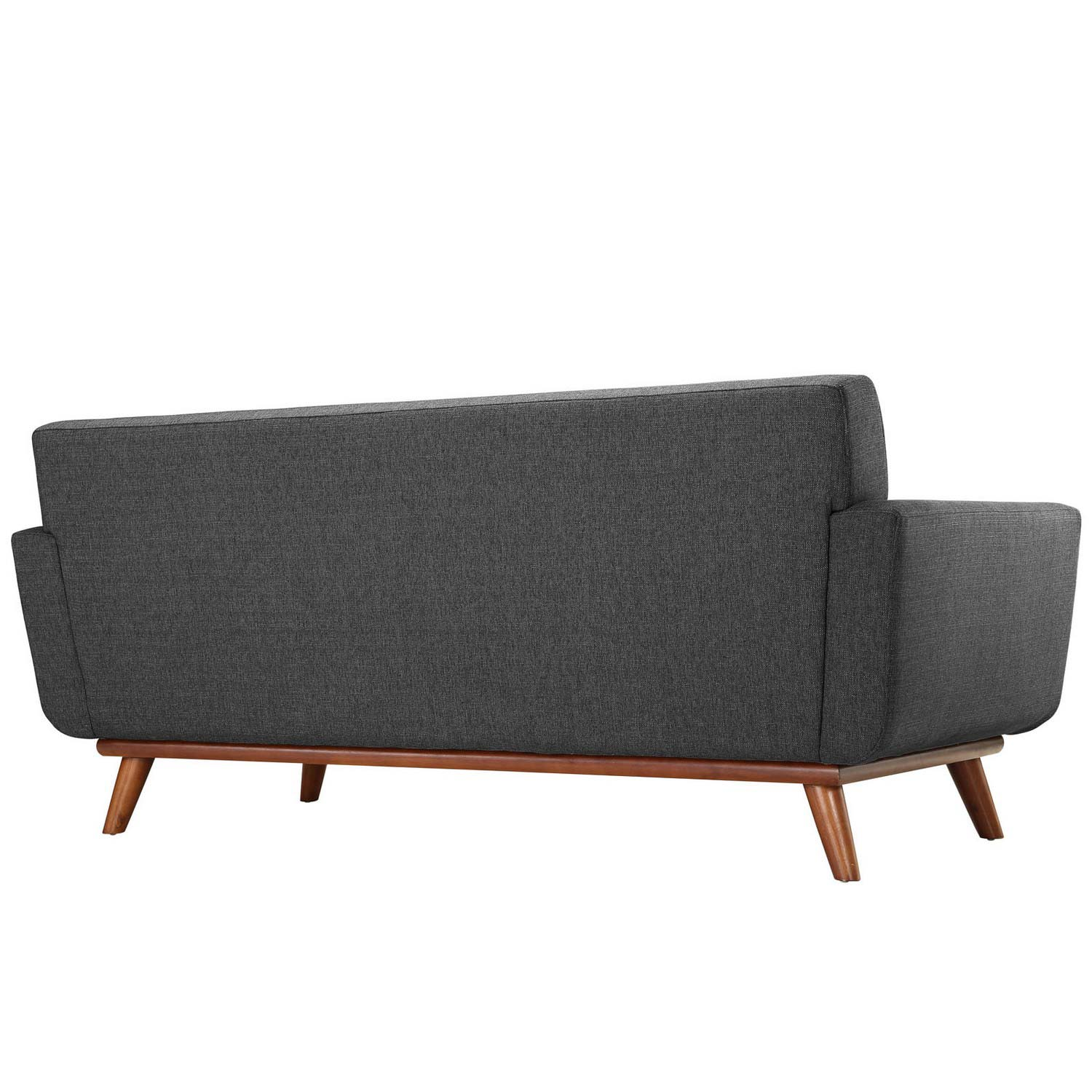Modway Engage Upholstered Loveseat - Gray