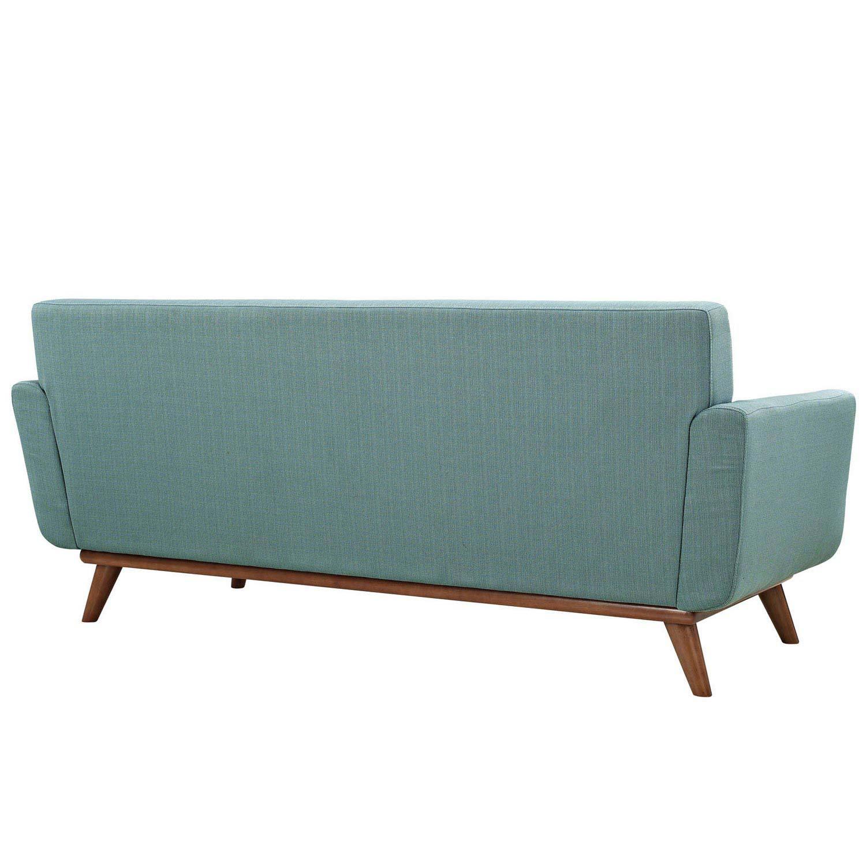 Modway Engage Upholstered Loveseat - Laguna