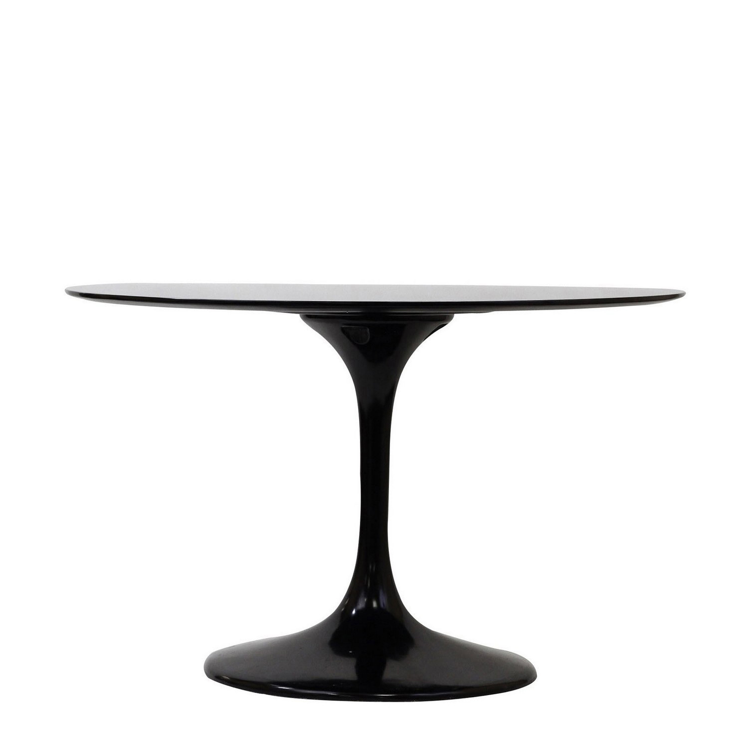 Modway Lippa 40 Fiberglass Dining Table - Black