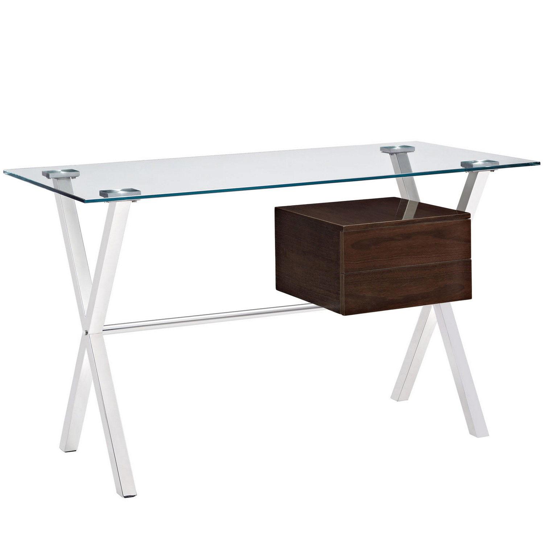 Modway Stasis Office Desk - Walnut