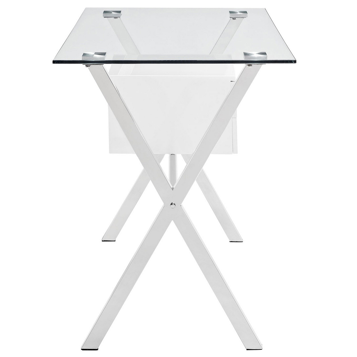 Modway Stasis Office Desk - White