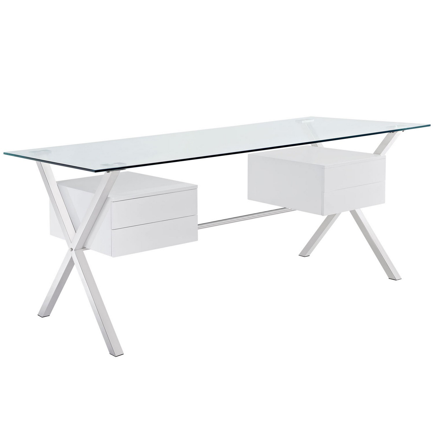 Modway Abeyance Office Desk - White