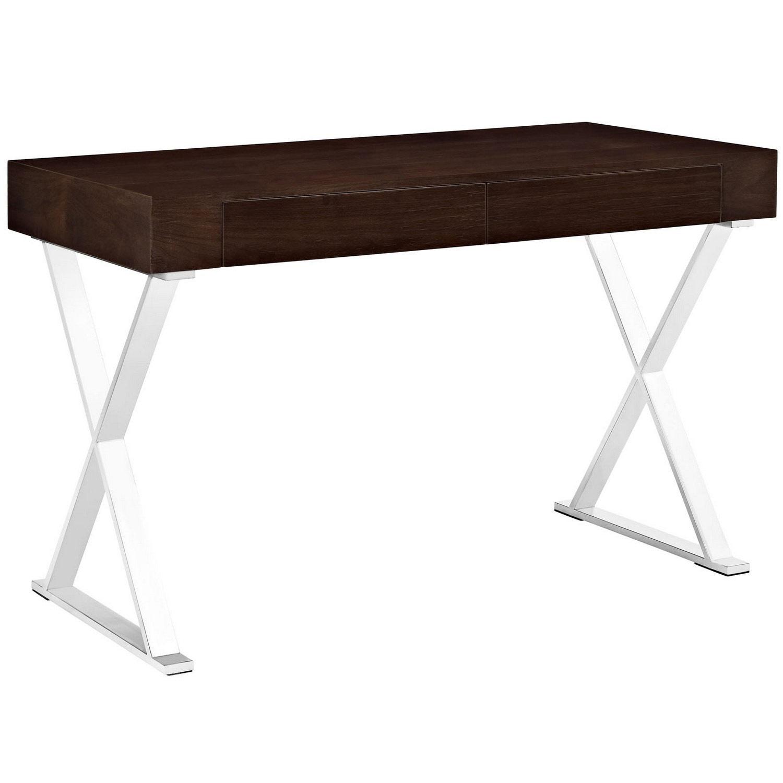 Modway Sector Office Desk - Walnut