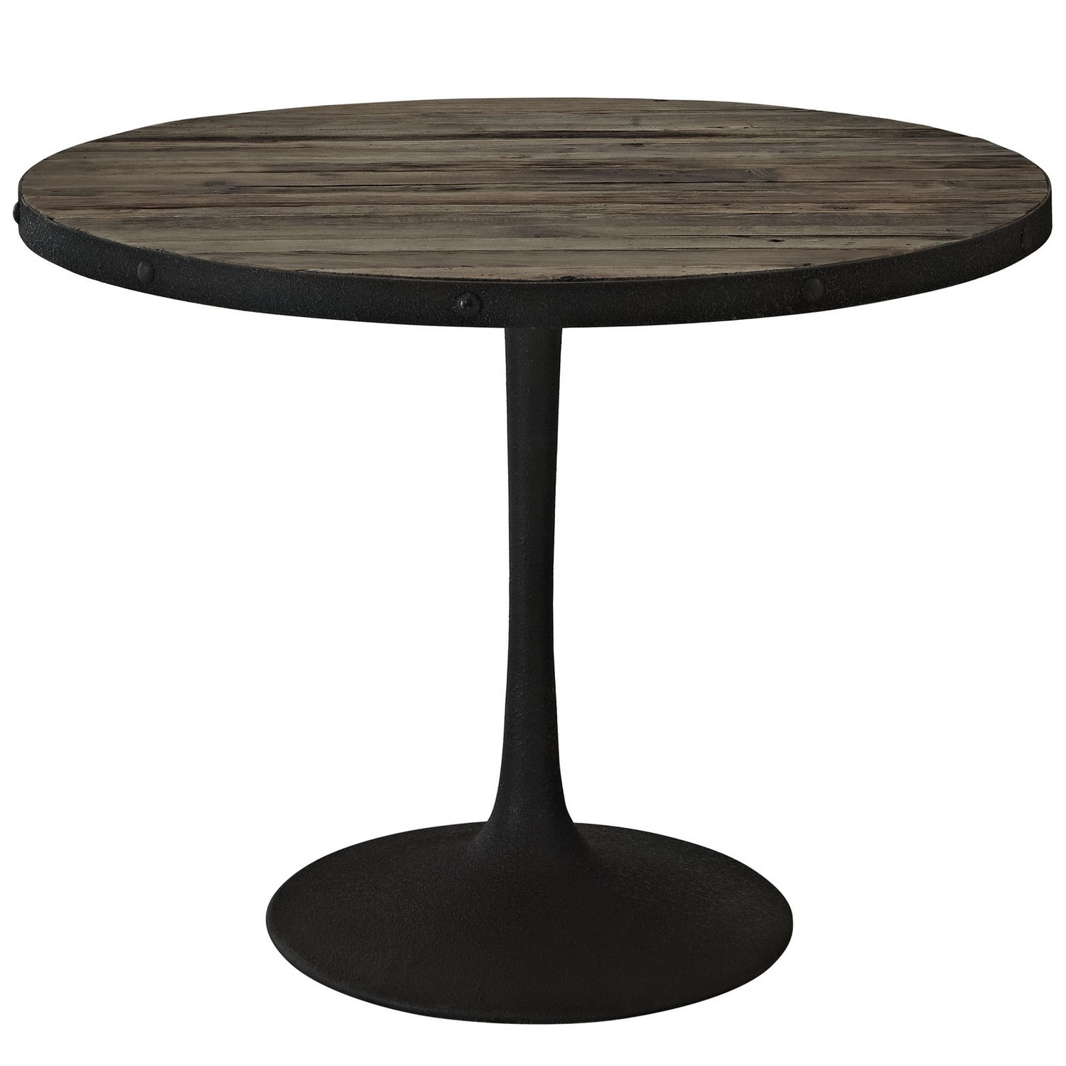 Modway Drive Wood Top Dining Table - Brown