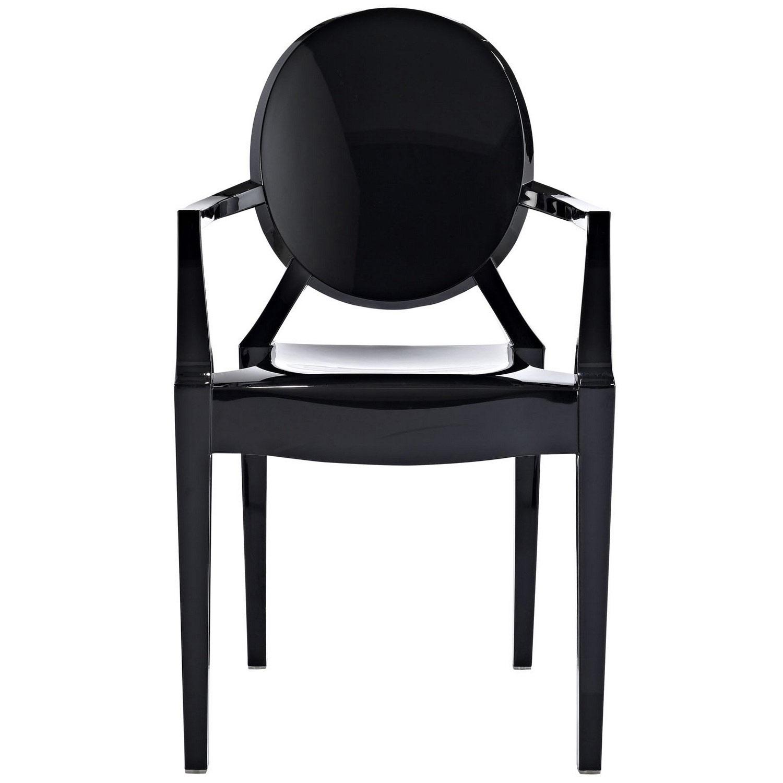Modway Casper Dining Armchair - Black