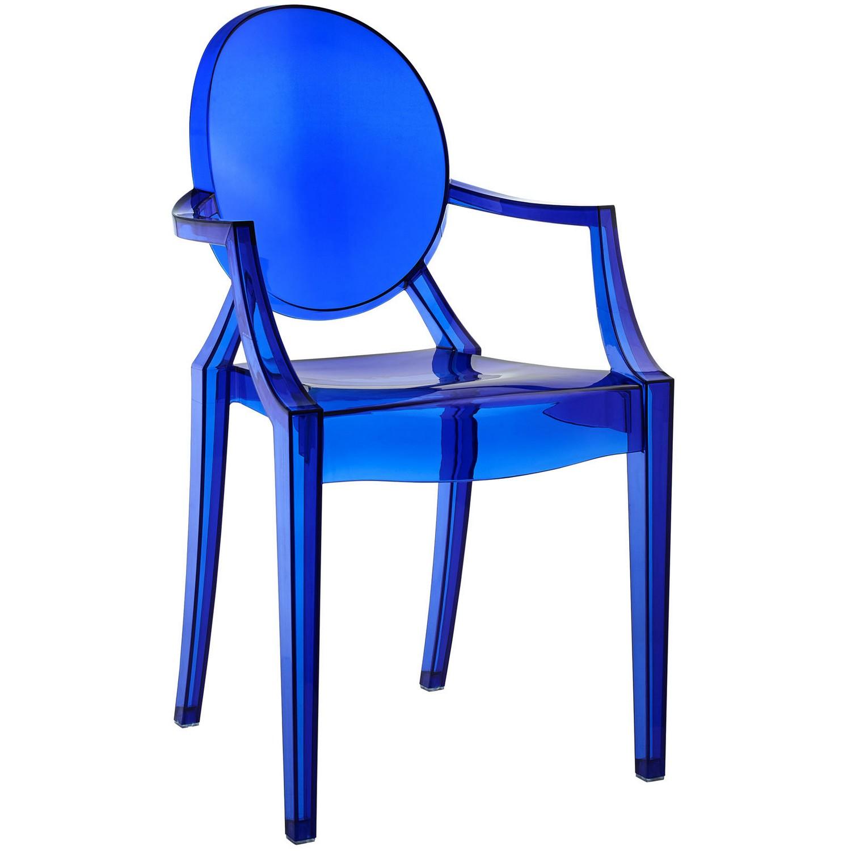 Modway Casper Dining Armchair - Blue