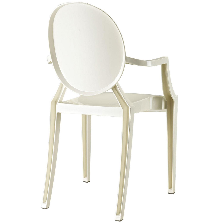 Modway Casper Dining Armchair - White
