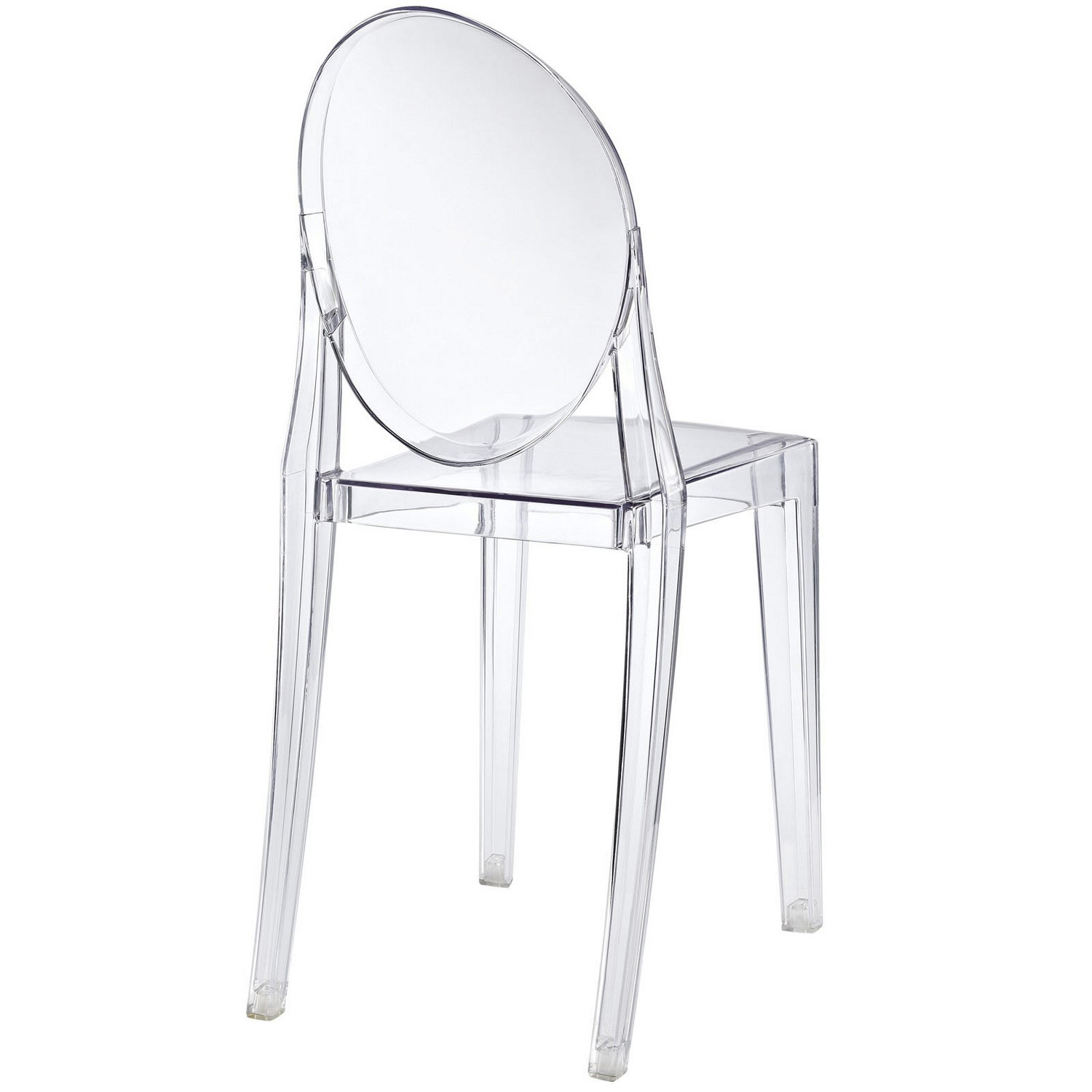 Modway Casper Dining Side Chair - Clear