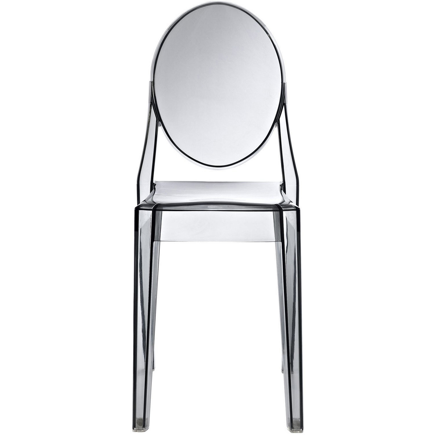Modway Casper Dining Side Chair - Smoked Clear