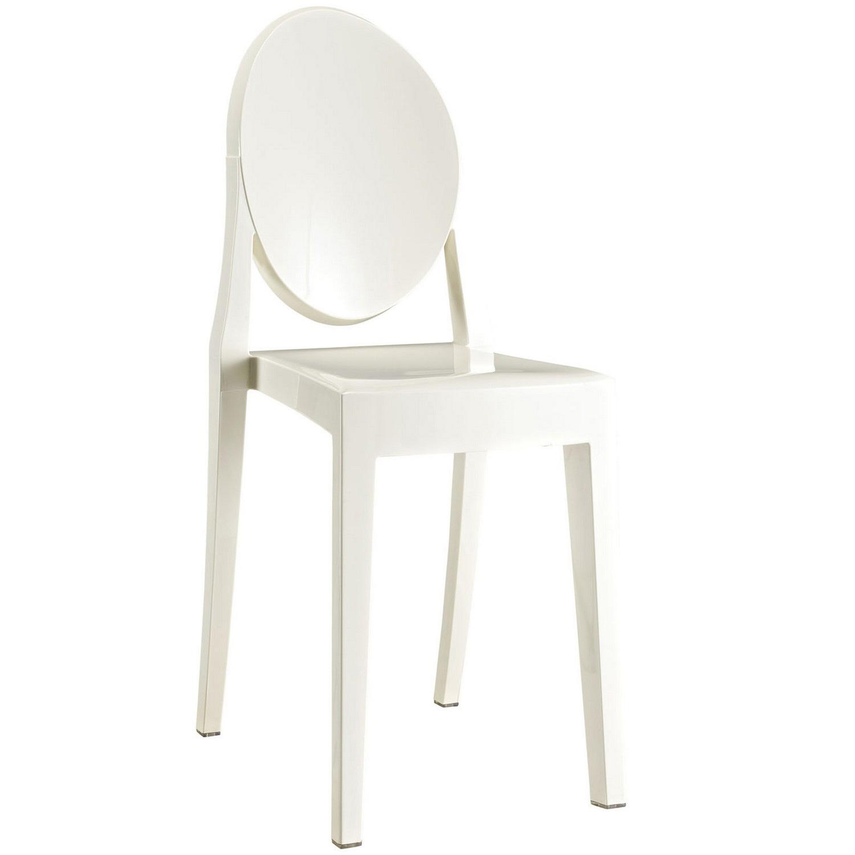 Modway Casper Dining Side Chair - White